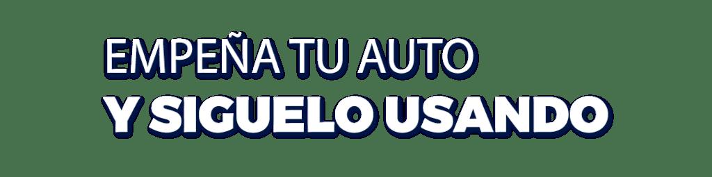 Empeño de autos